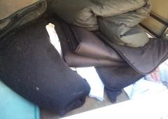 太田市から お引越に伴う、不要なお布団類の回収でした