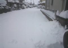 大雪の影響 本日 通常営業見合わせ