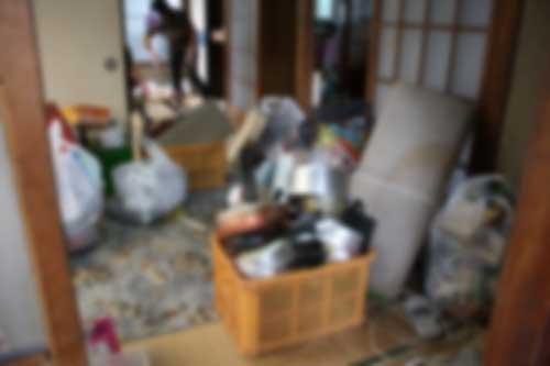 伊勢崎市波志江町 空き家の不要品回収 ゴミ処分