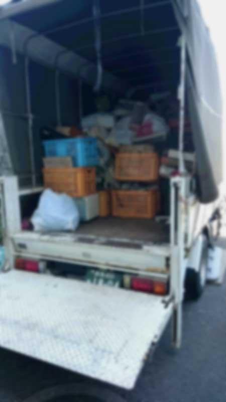 伊勢崎市宮子町 引越とお片づけ 不要品回収 作業