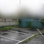 駐車場の草刈り